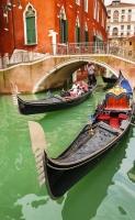 Viajar a Europa - Góndolas en Venecia