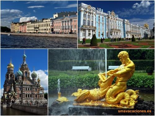 San Petersburgo y Moscú en Semana Santa