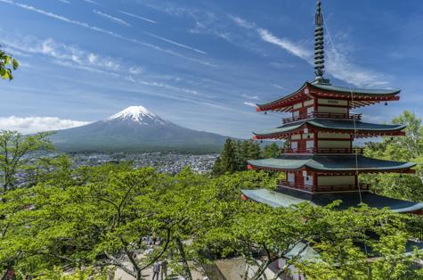 Circuito Japón Central con fin en Kioto