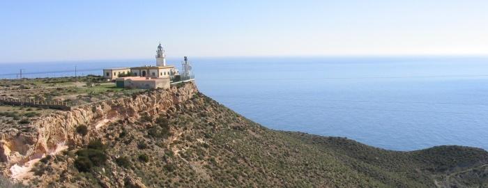 Faro de Mesa Roldán.