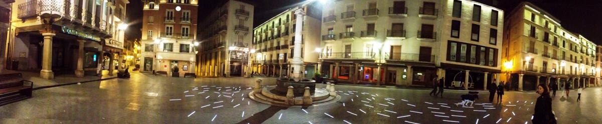 Teruel Plaza Torico SMS Vacaciones