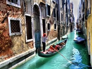 Venecia en el Puente de Diciembre