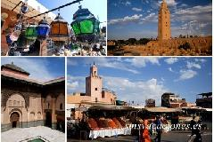 colores de marrakech