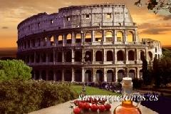 coliseo y pizza