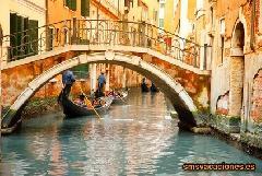 Venecia Paseo en Gondola