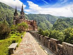 basilica sta maria la real covadonga