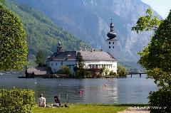 lago traunsee austria