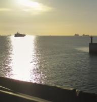 Ferry a bordo