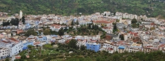 Chaouen panoramica