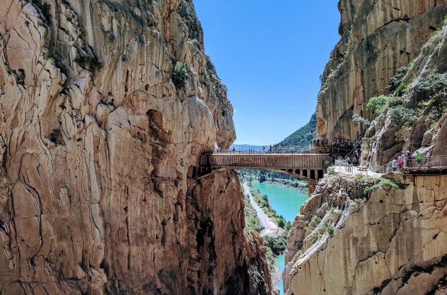 Circuito Costa Sol y Caminito del Rey Puente Inmaculada (I)
