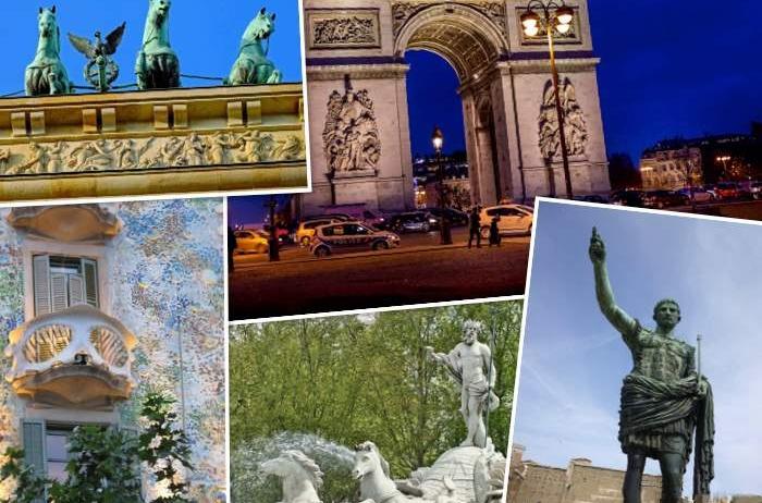 Circuito Italia, La Provenza Francesa, París y Madrid de 15 días.