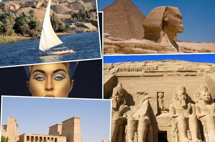 Circuito Bus Egipto con Crucero 4 Días por el Nilo.