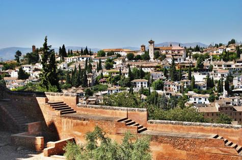 Costa de Levante, Andalucía y Portugal (sin Alhambra)