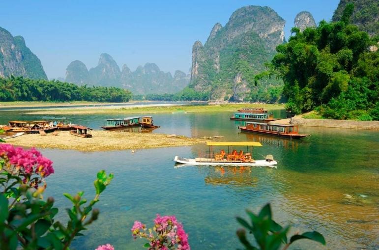 Circuito Triángulo Dorado y Sur de China fin Cantón de 16 días.