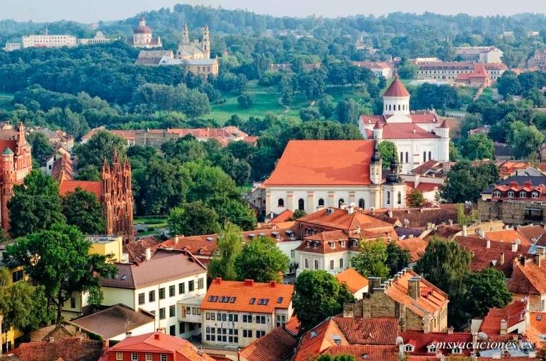 Escandinavia, Balticos, capitales Este hasta Viena